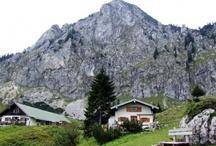 Almhütten - Bergbauernhöfe