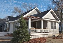 Downtown Grand Haven Home Remodel / This is a newly remodeled home by Pushaw Builders in Downtown Grand Haven, Michigan. It features multiple patio areas, custom woodwork, bay windows, and a fully updated interior.
