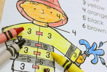 {classroom} Fire Safety/Community Helpers