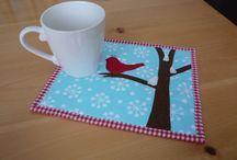 Place mats, Mug rugs
