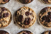 flaxseed almond muffins