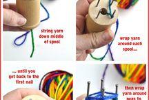 Špulkovač_spool knitting