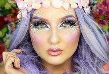 Kostüm-Make-up