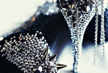 Beware / Spikes, studs, dangerously high heels. You name it, I love it. Even if I will NEVER, ever wear it.