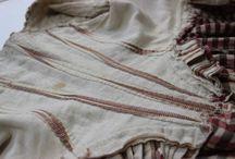 18th century: Construction details / Dress construction details from the 18th century.