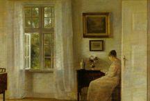 Carl Holsøe (1863 - 1935) / Art from Denmark.