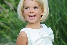 Haircut little girl