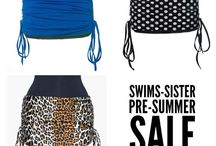 SwimS-sister / Ready for summer? SwimS-sister is perfect for beach, pool, BBQ, water sports and active summer lifestyles. Order yours today at www.hipssister.com.