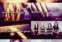 PrettyLittleLiars♥︎ / You're mine now, bitches. -Kisses, A / by Ari♡