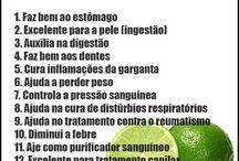 Limão saúde alimentar