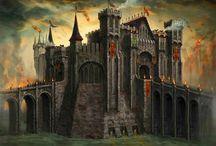 Fantasy Landscapes/Castles/Cities/Buildings