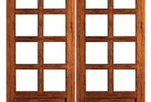Interior French Doors / Add lite and style to your home with our interior French doors.  They have the same great quality as our exterior French doors, but with single pane glass.