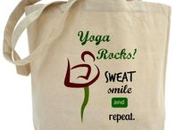 YOGA / Cute t-shirts, tote bags, gym bags, tank tops and more related to YOGA.  Shop now at:    http://www.cafepress.com/miamoondesigns.1288817937