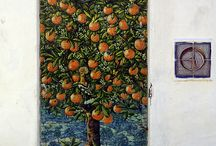 Orange tree / Mosaic