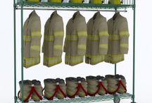 Municipal Services Equipment / Sanitation Supply Task Stations     Security Storage     Surplus Gear Racks     Tool Storage     Charging Stations     Firefighter TurnOut Gear Racks