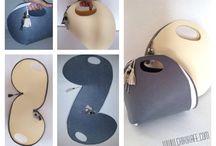 carta modello borse