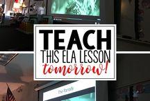 Lesson plan ideas