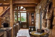 Hallways / Appalachian Log & Timber Homes Client Hallway Gallery
