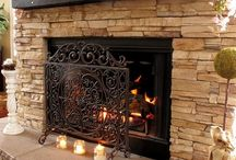 Fireplaces / by Debbie Reeves DeWitt