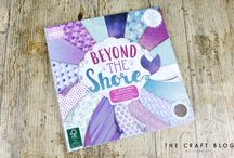 First Edition Beyond The Shore / Dive into the depths of First Edition's magical collection, Beyond the Shore, featuring a stunning selection of on-trend mermaid inspired designs. Designed by the super talented Kristin Cronin Barrow, this pad has everything you need to create an eye-catching craft.