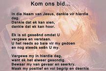 Kom ons bid...