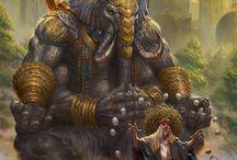 Тату Божественный Слон