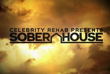 """CELEB REHAB PRESENTS: SOBER HOUSE / """"Sober House"""" chronicles the dramatic, real life experiences of a group of celebrities in recovery. These recovering addicts move into a group house for several weeks in an effort to make the critical transition to new lives free of drugs and alcohol."""