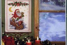 haft krzyżykowy BN-Santa,dziadek do orzechów / by ela