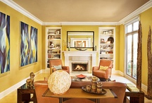 COLOR: YELLOW / Room inspirations, design, and gorgeous interiors, all united by one common theme: yellow.