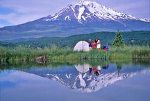 Mt. Shasta: Camping / Mt. Shasta is a camping paradise, with settings to fit every need, from rough and remote sites to developed campgrounds with hook-ups, and showers. Whether you are looking for a site close to water or close to town, we have one that will meet your needs.