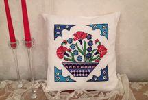 el yapımı dekoratif yastıklar