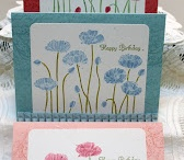 Stampin' Up! Pleasant Poppies