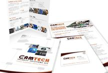Branding For Camtech / Planet Green Solutions Provides Following Services For Alamiri Technical Services LLC 1)Dynamic Website Design 2) Logo Design 3) Complete Branding (Brochure Design, Letterhead, Business Card, Envelope, Email Signature etc)