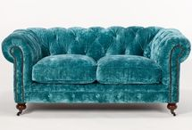 Funky Furniture / Velour couches and beyond....