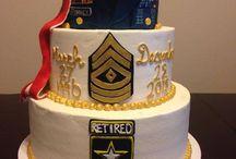 Barb retirement cake