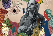 Violeta, cantora,pintora...creadora, por sobre todo genio ..