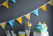 1st birthday inspiration / Rubber duck theme