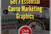 Get 7 Cause Marketing Graphics / Visit my website to get 7 free cause marketing graphics.