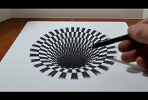 Dessin illusion
