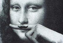 Mona mania / Collection of Mona Lisa parody paintings