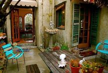 outdoor spaces / by Anne D