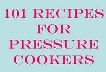Pressure cooker dinner