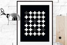 Minimalist & Geometric Decor / Sleek interiors for the modern home