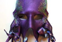 Handmade Leather Masks