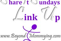 Share it Sundays Link Up / All the great posts shared on the Share it Sundays Link Up on Beyond Mommying #BeyondMommyingSiS / by Beyond Mommying
