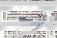 インテリア  図書館