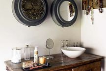 Vintage Home - Bathroom / Beautiful re-loved bathroom looks