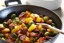 Gehakt groente zoet zuur met ananas