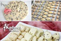 kurabiye tatlı tarifleri