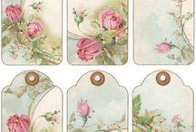 imagenes vintage para imprimir / Etiquetas